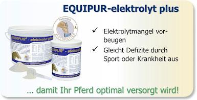 Kalium, Natrium und Chlorid sind lebensnotwendige Elektrolyte fürs Pferd