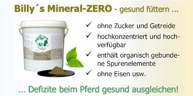 Billy´s Mineral ZERO - Mineralfutter für Pferde - ohne Zucker und Getreide