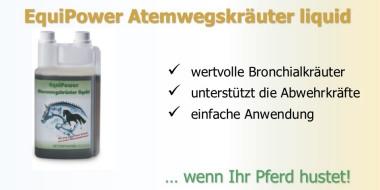 EquiPower Atemwegskräuter bei Husten oder Beschwerden der Atemwege.