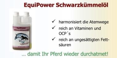 EquiPower Schwarzkümmelöl für ihr Pferd