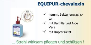 EQUIPUR-chevaloxin für eine nachhaltige Strahlpflege