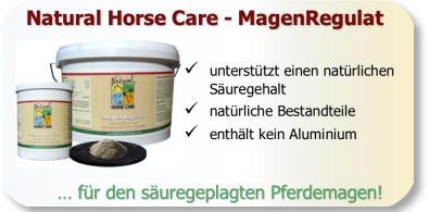 Natürliche Wirkstoffe für den gestressten Pferdemagen