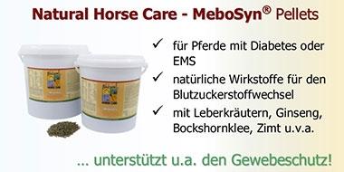 MeboSyn Pellets - Ergänzungsfutter für Pferde mit EMS