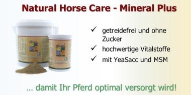 Mineral Plus - ein hochwertiges Mineralfutter für die tägliche Fütterung Ihres Pferdes.