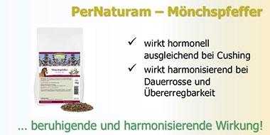 Mönchspfeffer PerNaturam bei Chushing oder hormonellen Störungen