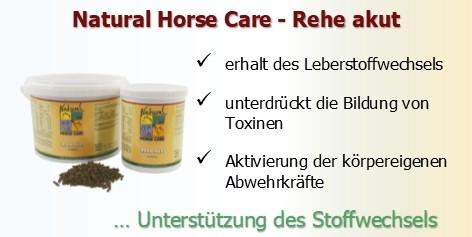 Rehe Akut - Unterstützung der Stoffwechselvorgänge bei akuter Hufrehe