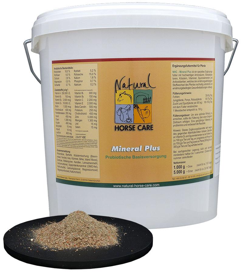 Mineral Plus - probiotisches Mineralfutter fürs Pferd