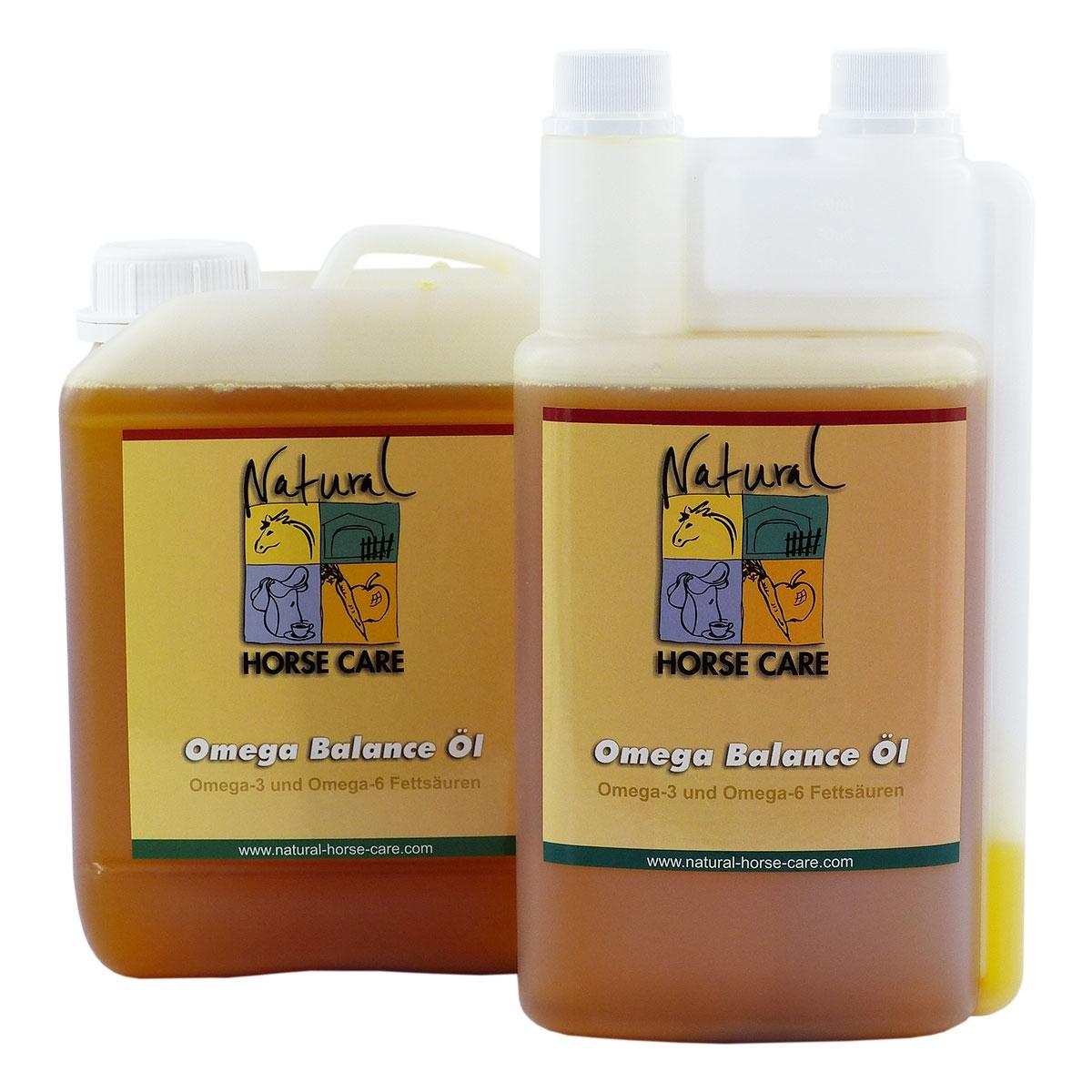 das Omega Balance Öl von Natural Horse Care - hier direkt bestellen!