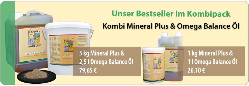 Unser Topseller - Mineral Plus - organisch gebundene Spurenelemente.